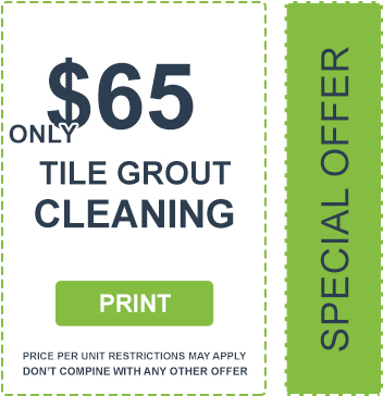 Tile Grout Cleaning Coupon