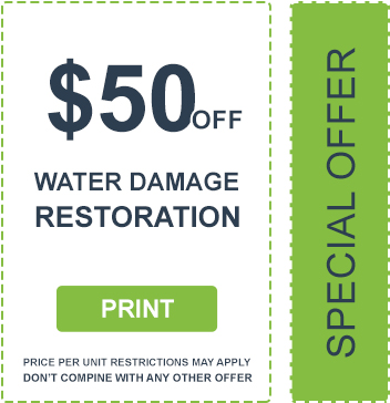 Water Damage Restoration Coupon
